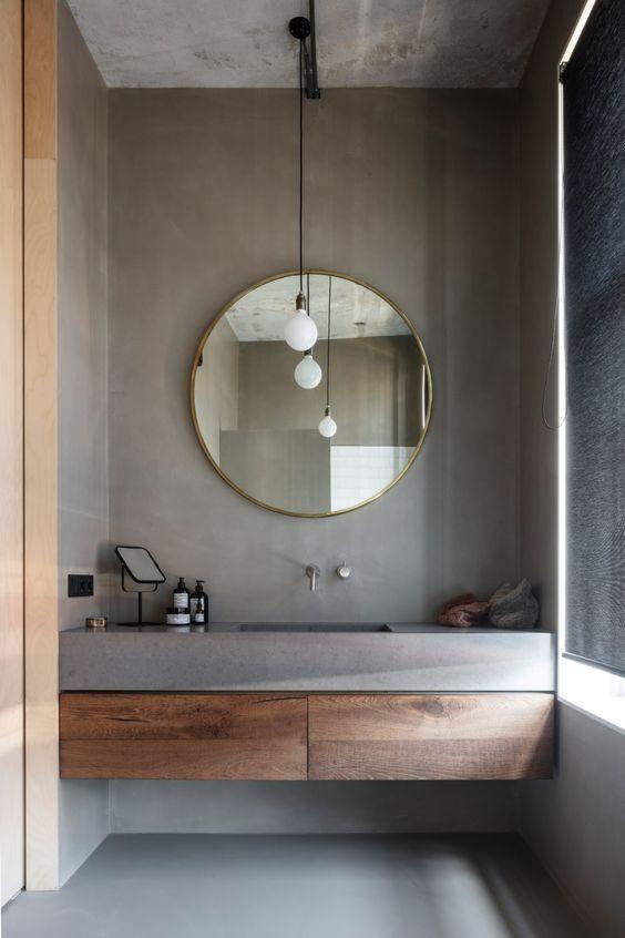 20 Stunning Farmhouse Bathroom Vanity Decor Ideas and Remodel (12)