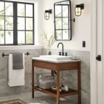 20 Stunning Farmhouse Bathroom Vanity Decor Ideas And Remodel (4)