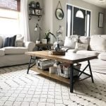 20 Stunning Farmhouse Coffee Table Decor Ideas and Remodel (12)