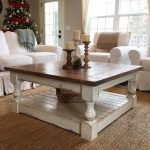 20 Stunning Farmhouse Coffee Table Decor Ideas and Remodel (6)