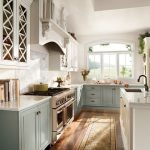 20 Stunning Farmhouse Kitchen Cabinets Decor Ideas And Remodel (17)