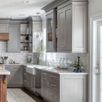 20 Stunning Farmhouse Kitchen Cabinets Decor Ideas And Remodel (8)