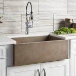 20 Stunning Farmhouse Kitchen Sink Decor Ideas And Remodel (18)