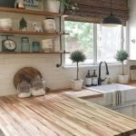 20 Stunning Farmhouse Kitchen Sink Decor Ideas And Remodel (3)