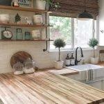 20 Stunning Farmhouse Kitchen Sink Decor Ideas And Remodel (3)