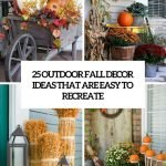 Adorable Diy Fall Decorations For Outside