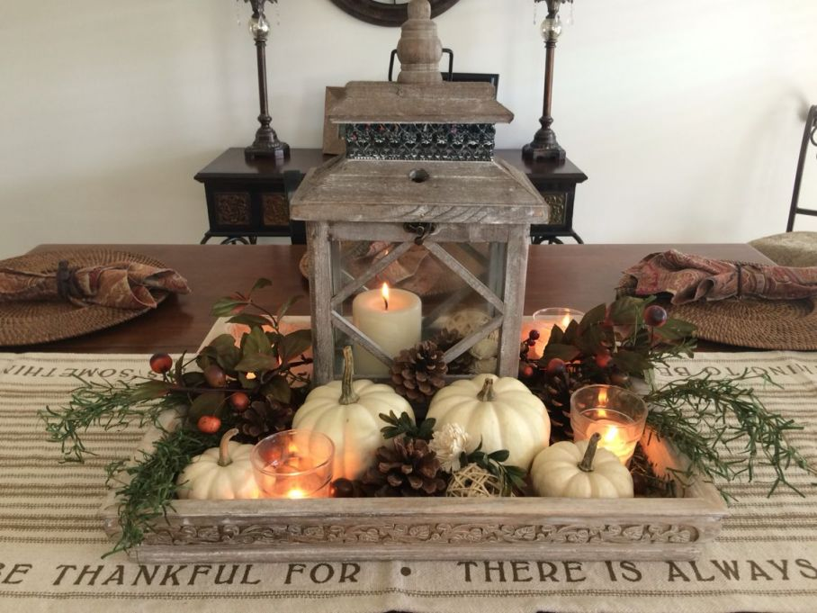 Adorable Fall Dining Table Decorations