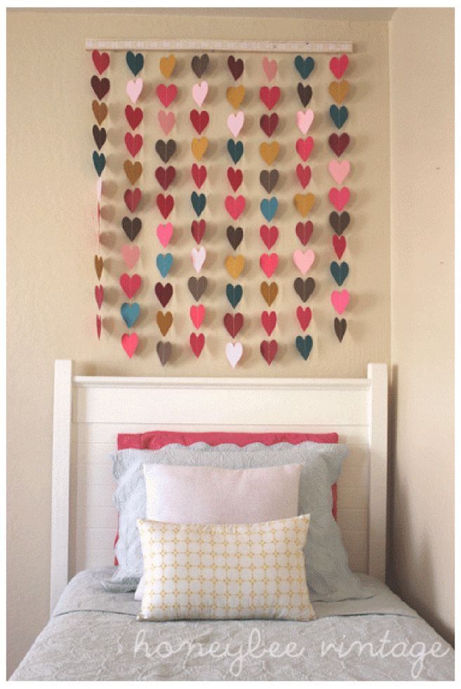 Cool diy wall decor for bedroom