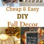 Beautiful Fall Decorating On A Budget