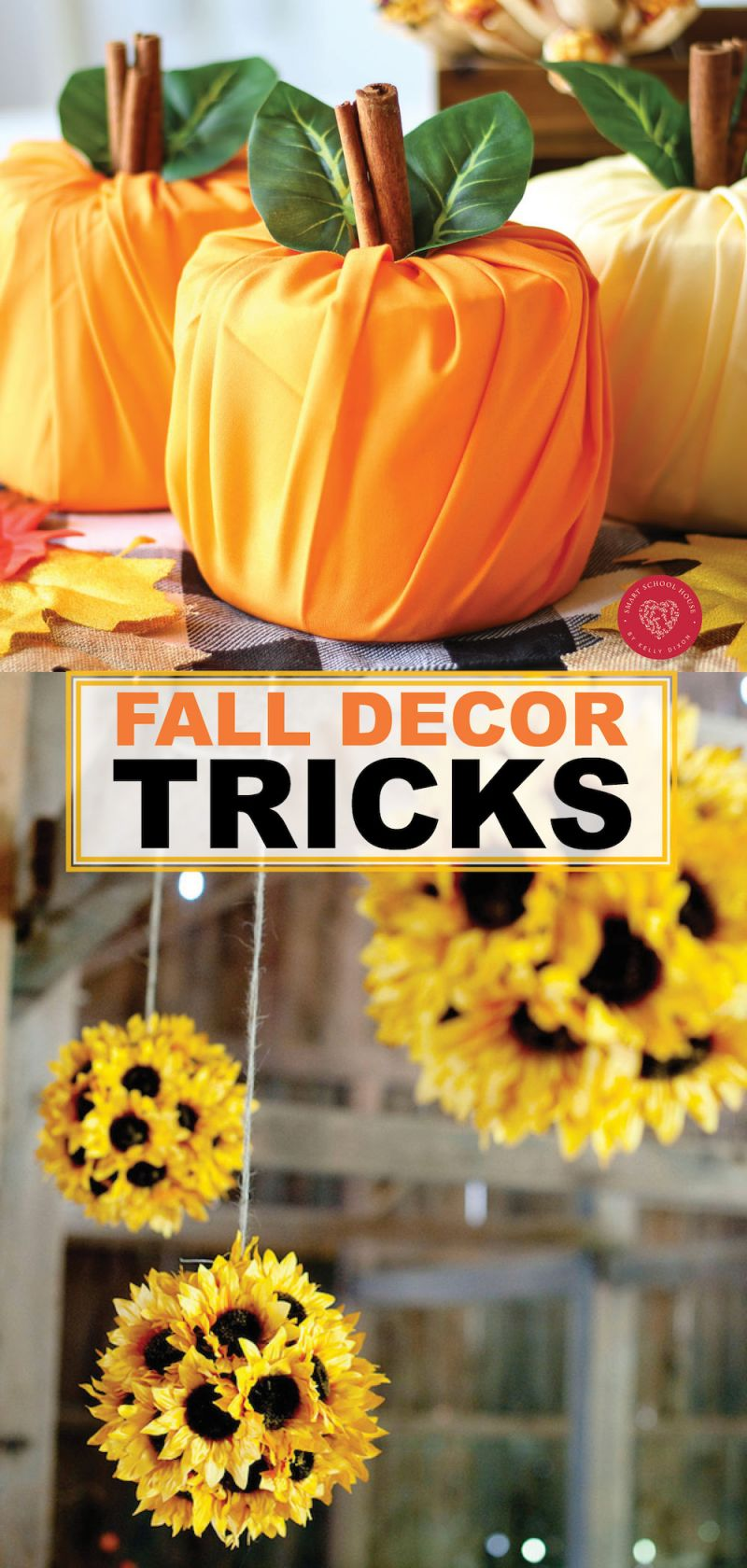 Beautiful homemade fall decorations