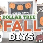 Fantastic Diy Fall Decor Dollar Tree