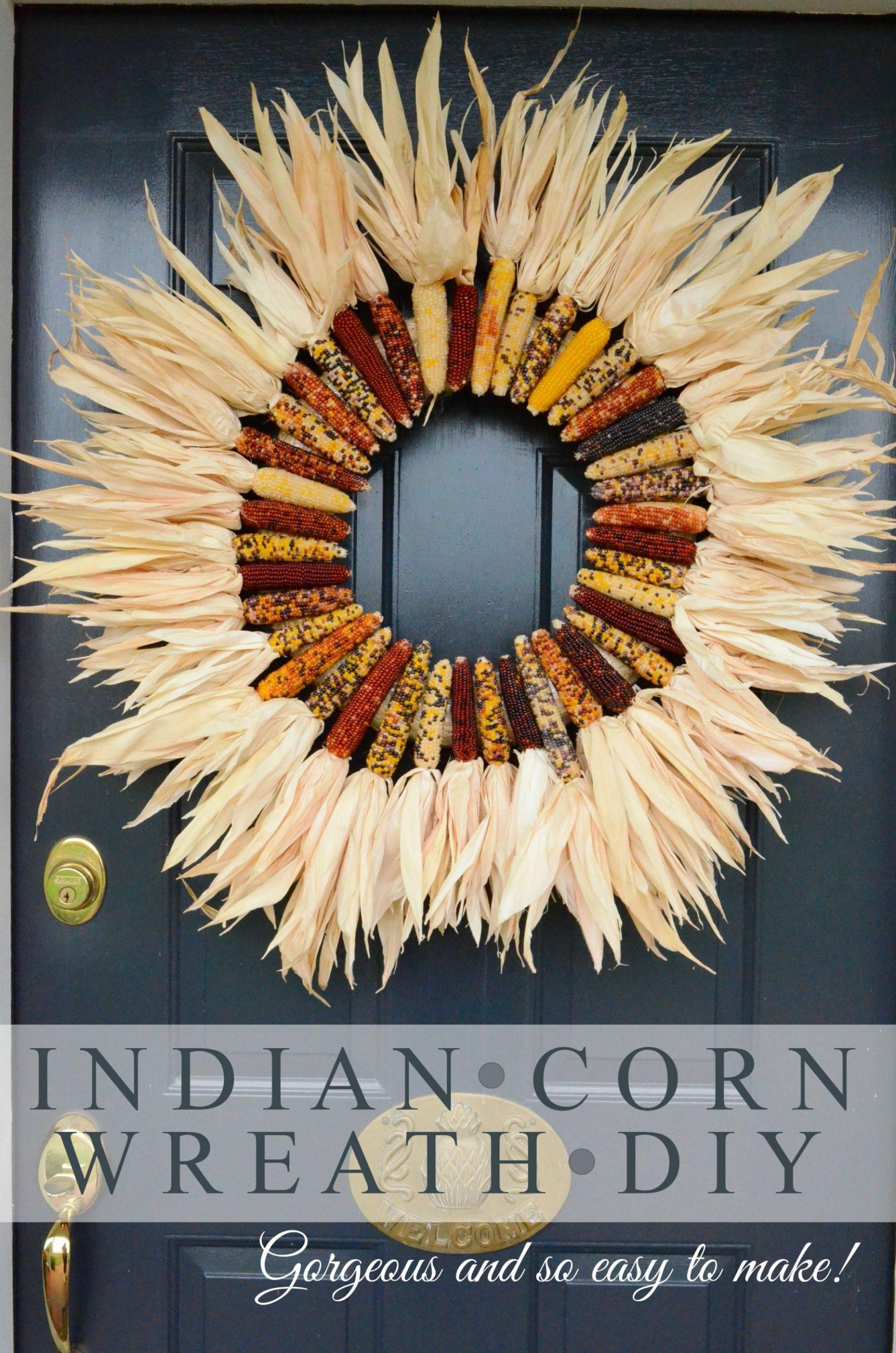 Fantastic  diy indian corn decorations