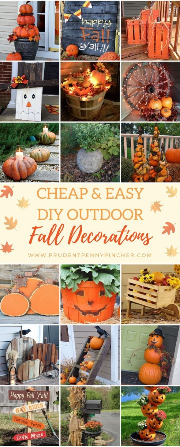 Awesome fall decorating on a budget