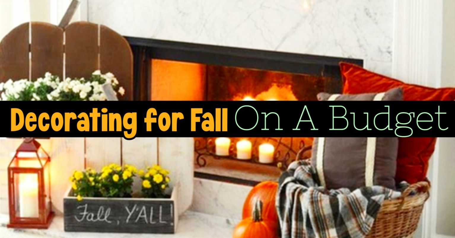 Nice fall decorating on a budget