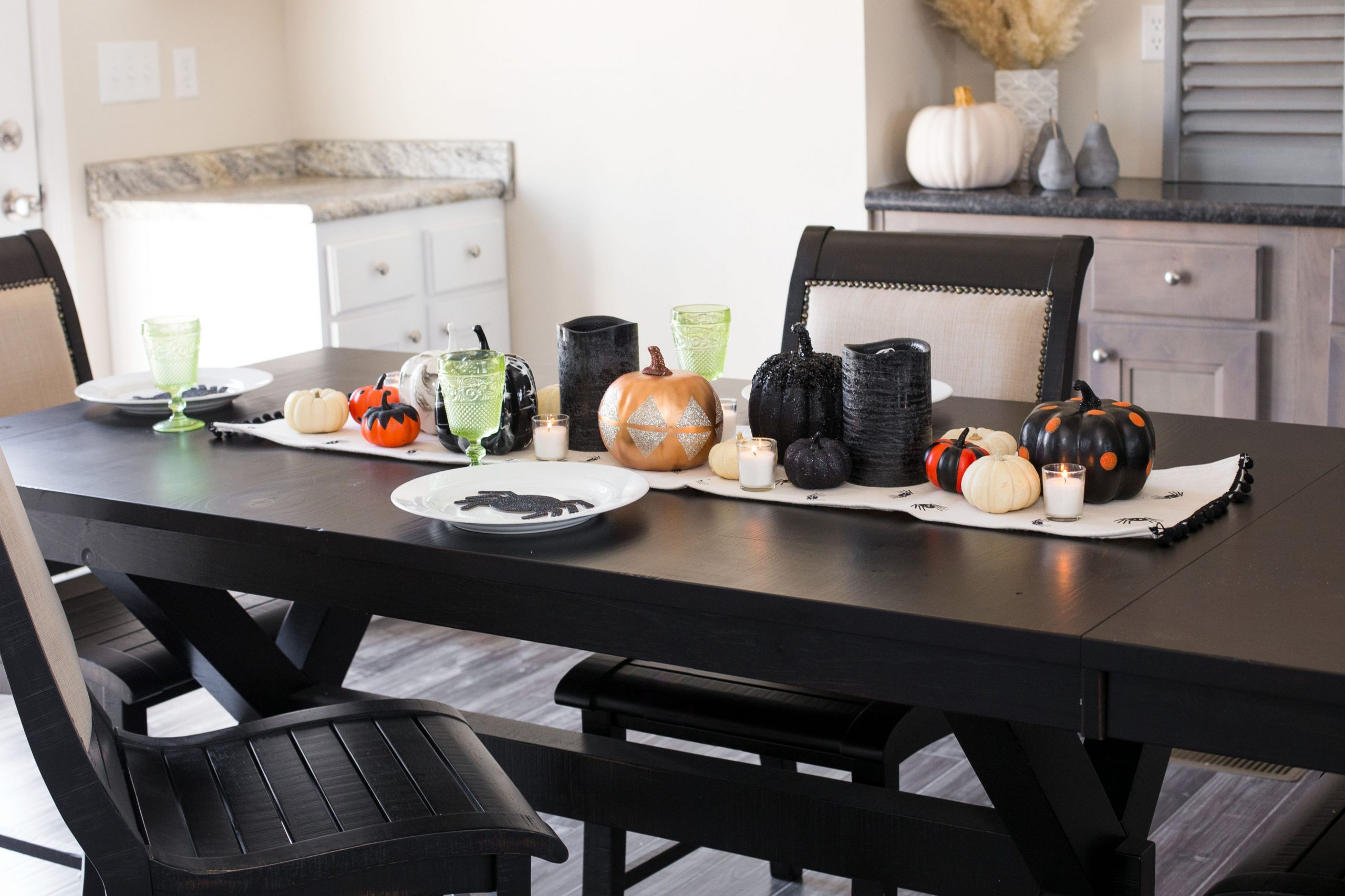 Fantastic fall dining table decorations