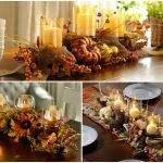 Nice Fall Dining Table Decorations