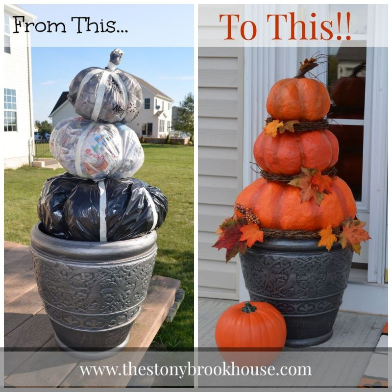 Amazing homemade fall decorations