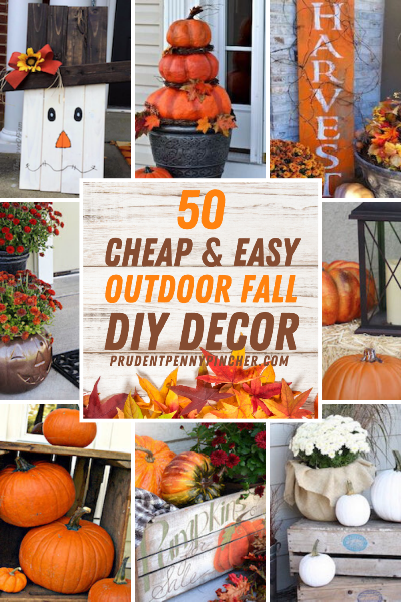 Top homemade fall decorations