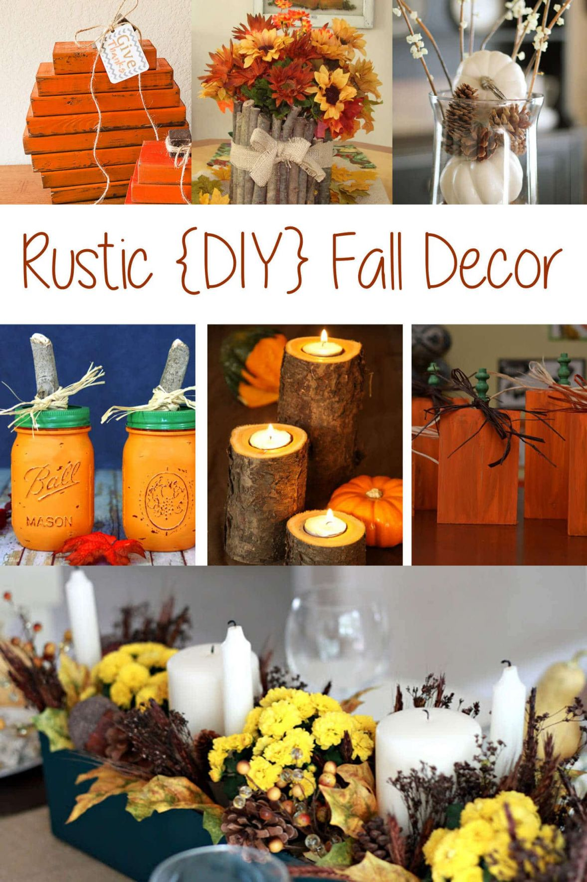 Wonderful  homemade fall decorations