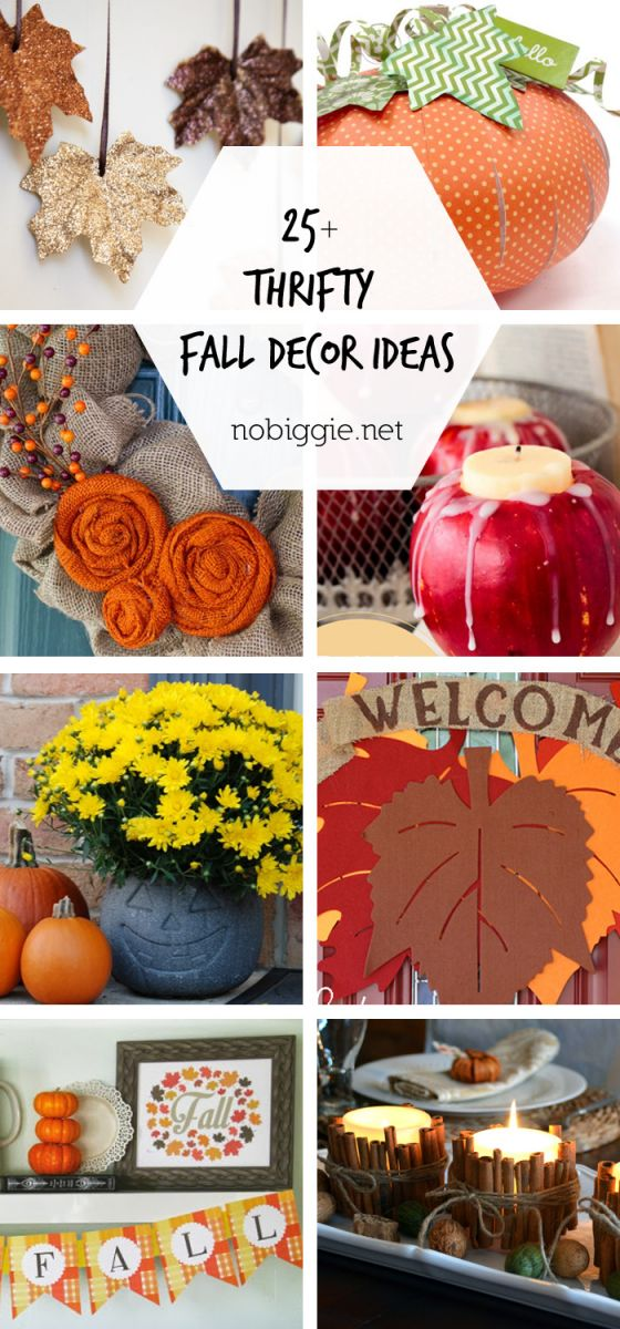 Amazing diy fall decor ideas