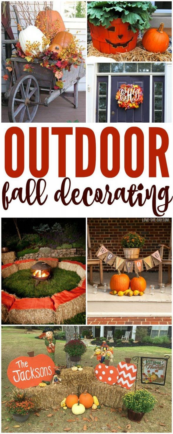 Cool fall decorating on a budget