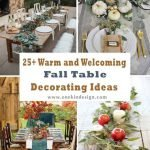 Top Fall Dining Table Decorations
