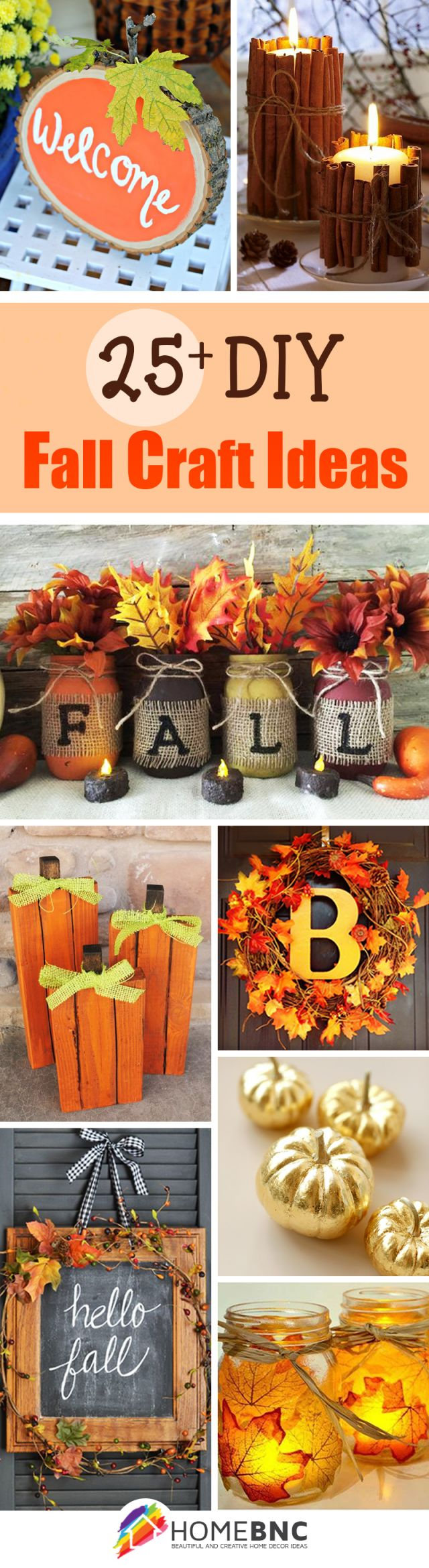 Awesome homemade fall decorations