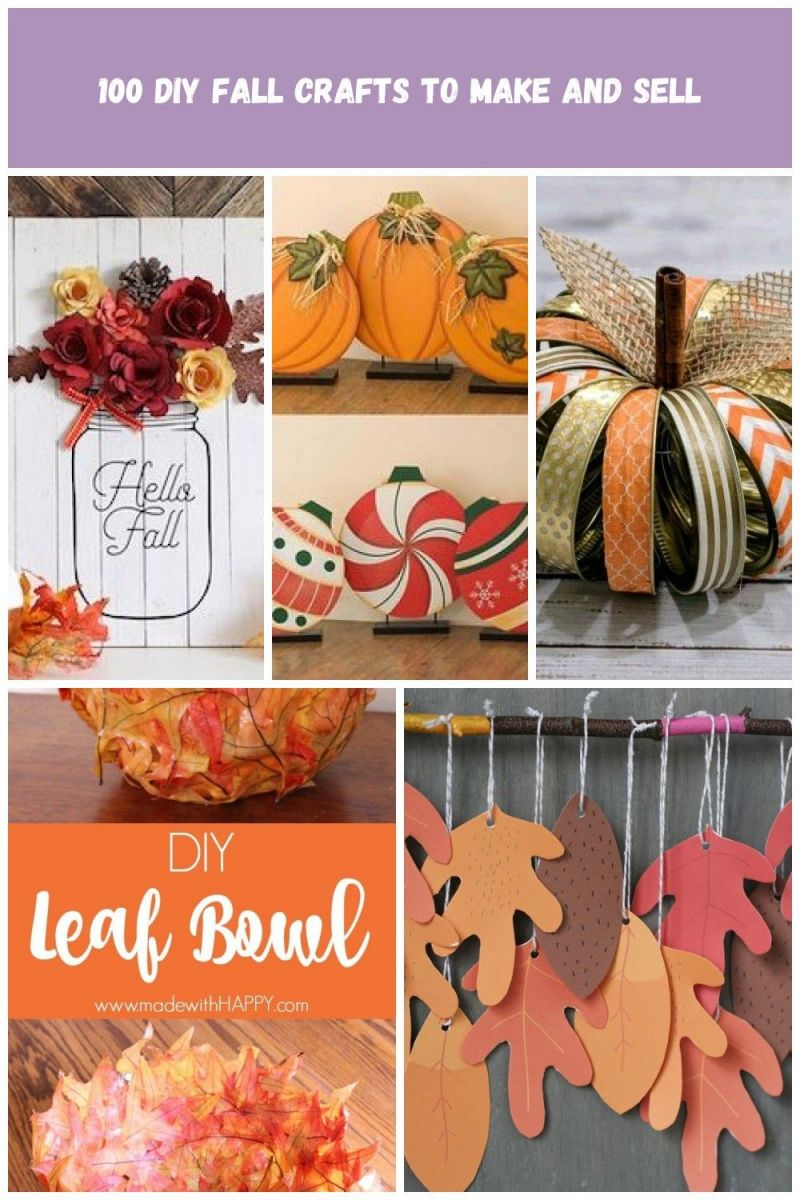 Amazing fall crafts to make and sell