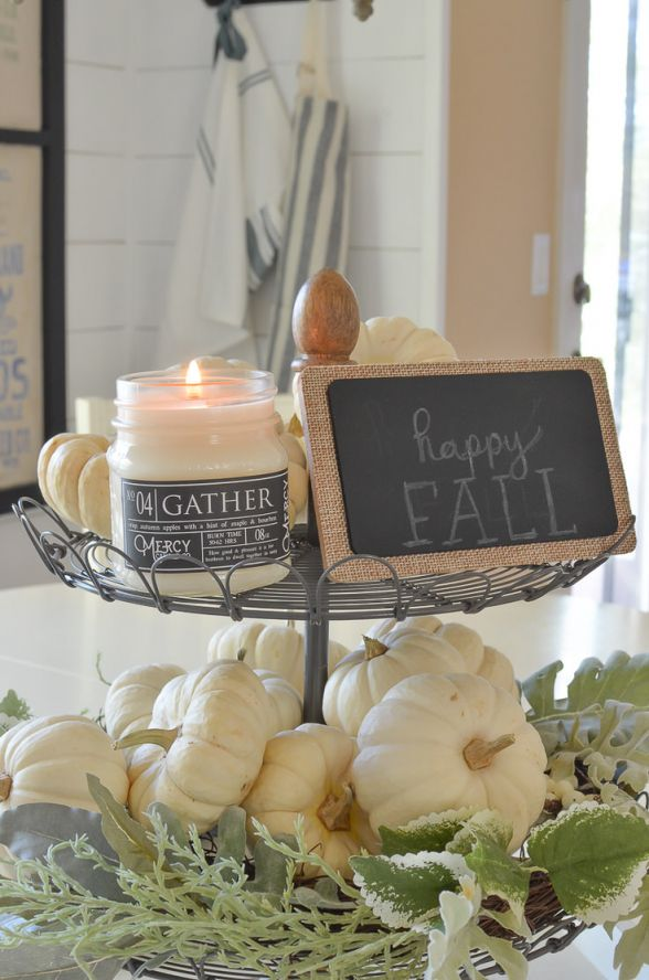 Wonderful fall decorating on a budget