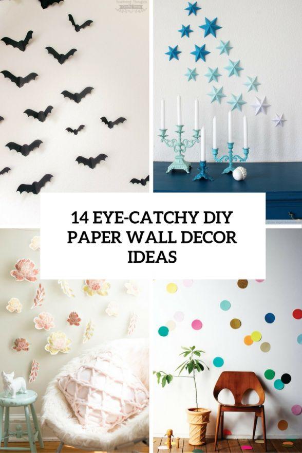 Wonderful homemade wall decoration ideas