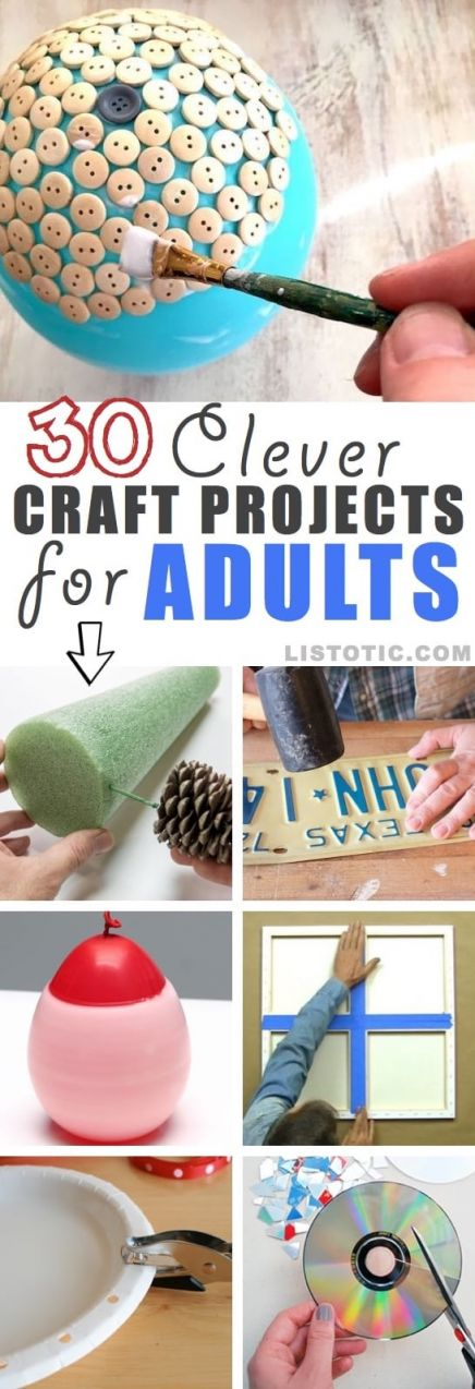 Adorable Craft Ideas For Adults Step By Step