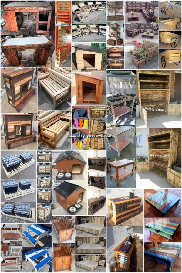 Cool diy pallets ideas