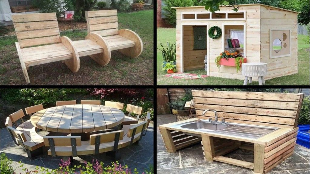 Wonderful pallet ideas for outdoors