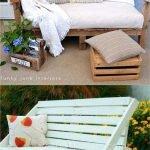 Adorable Simple Pallet Furniture