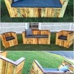 Adorable Wooden Pallet Ideas For Garden