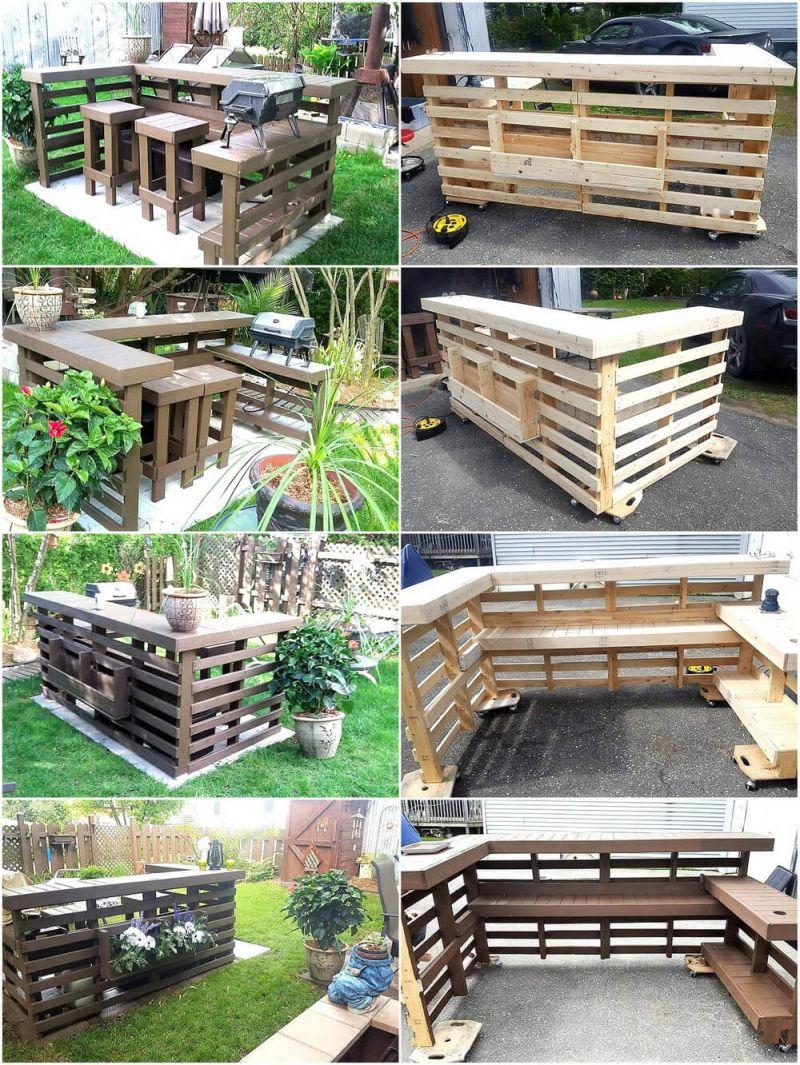 Gorgeous wooden pallet ideas for garden