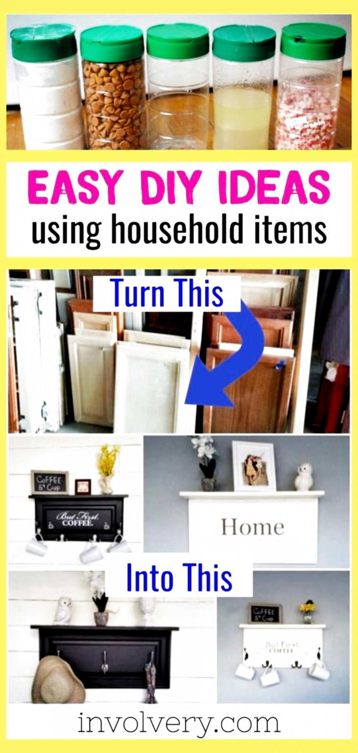 Best diy crafts with household items