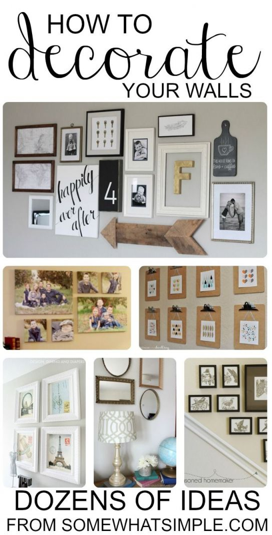 Awesome  diy wall decor for living room