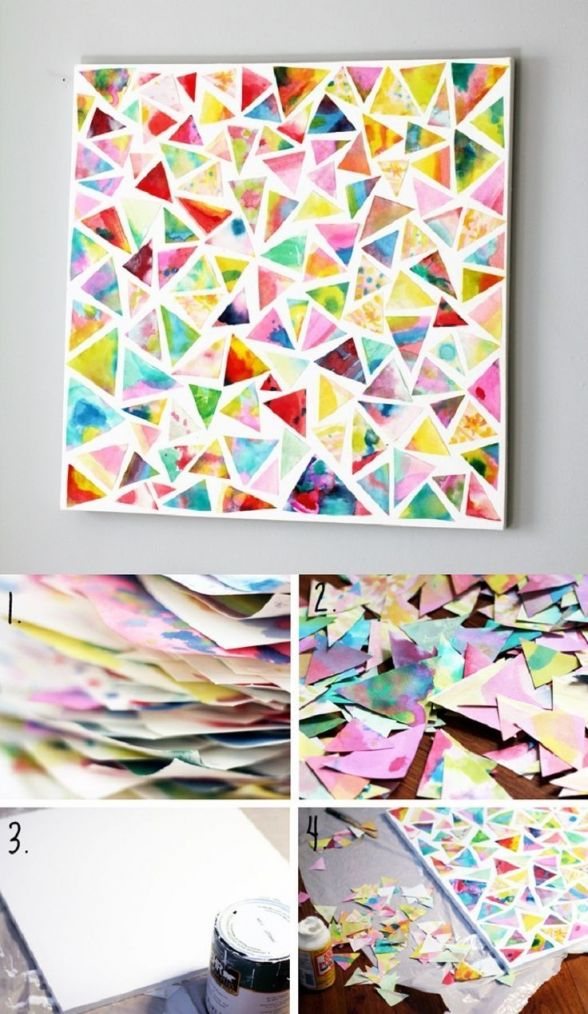 Nice easy diy wall art projects
