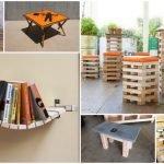 Amazing Interior Homemade Furniture Ideas