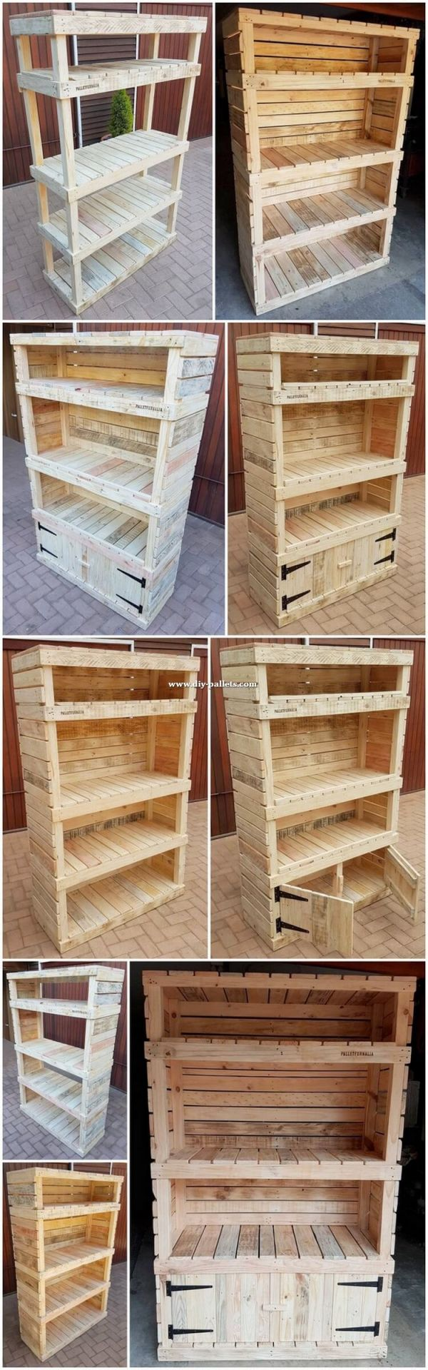 Adorable pallet furniture plans step by step