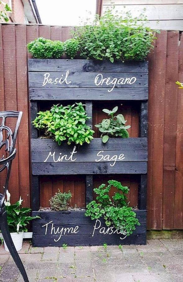 Adorable things to do with pallets in the garden