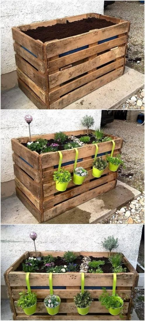 Cool things to do with pallets in the garden