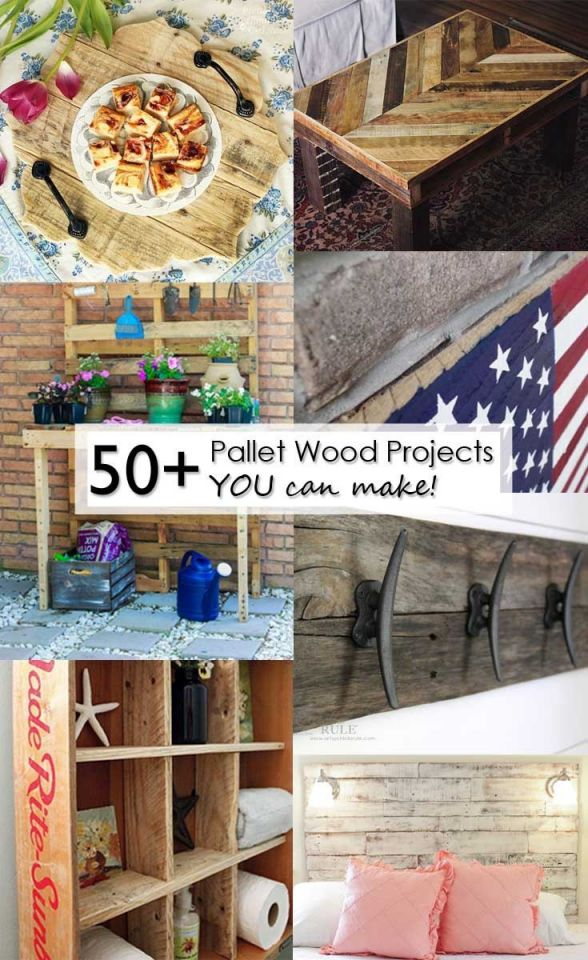 Nice things to make from wooden pallets