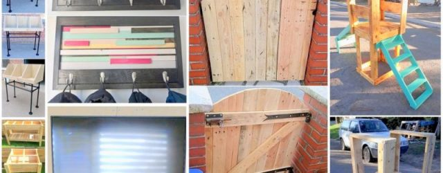Adorable  diy furniture ideas with pallets
