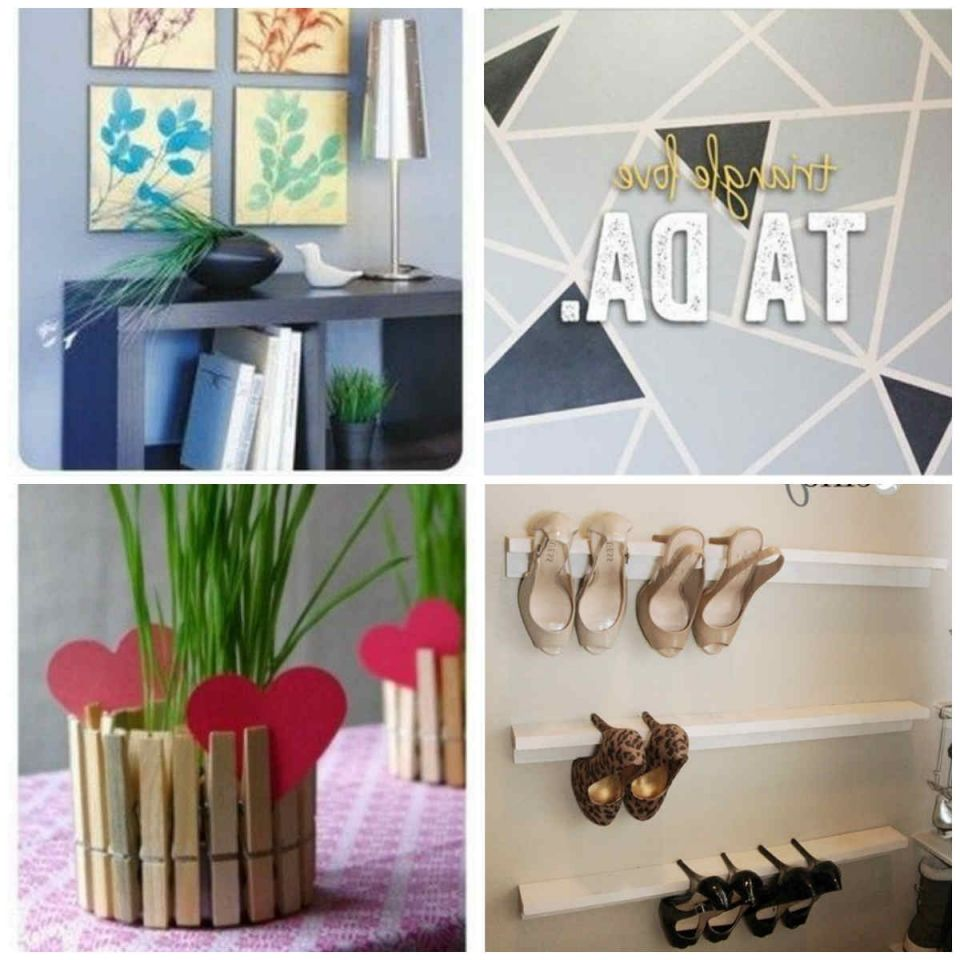 Adorable easy diy projects for home decor