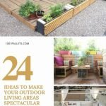 Beautiful Pallet Ideas For Outdoors