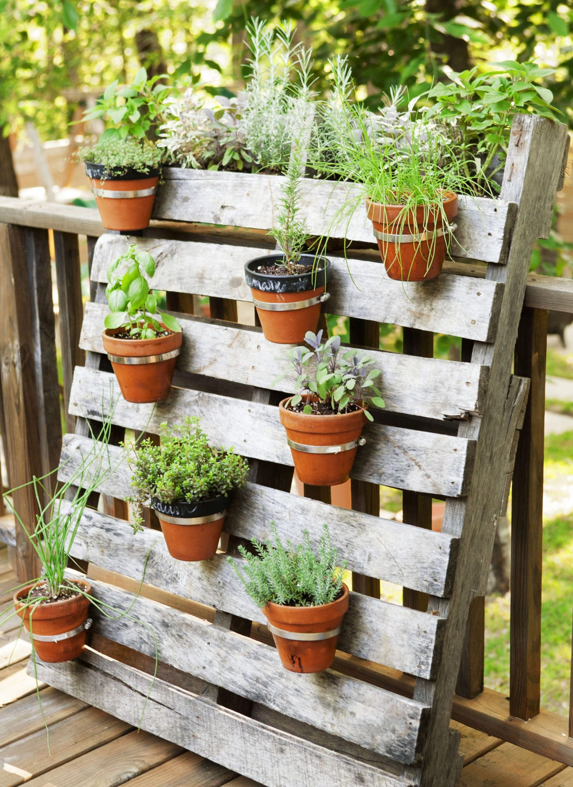 Best  things to do with pallets in the garden