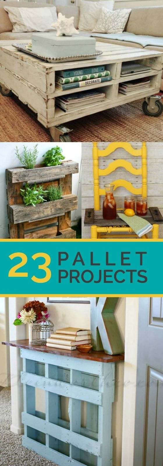 Fantastic diy pallets ideas