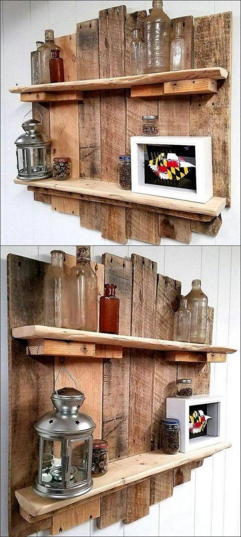 Fantastic  pallet craft ideas